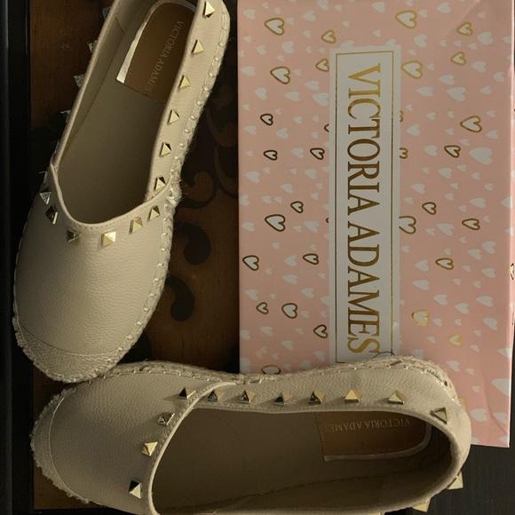 VICTORIA ADAMES Kylie Espadrilles Shoes Pink